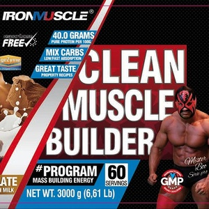 clean muscle builder mister boo serie pro