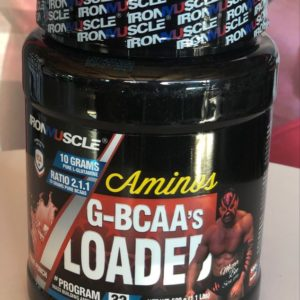 g-bcaa glutamine acide amines protein muscle