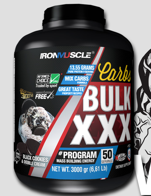 bulk xxx iron muscle gainer lean protein