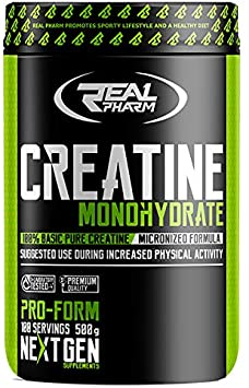creatine monhydrate real pharm